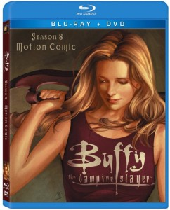 Buffy Season 8 Motion Comic DVD and Blu-ray