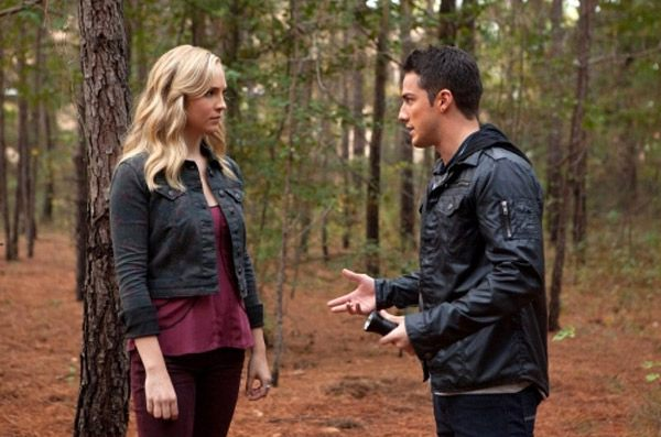 Caroline and Tyler from Vampire Diaries