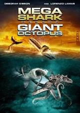 Syfy Original Movie – Mega Shark vs Giant Octopus on DVD