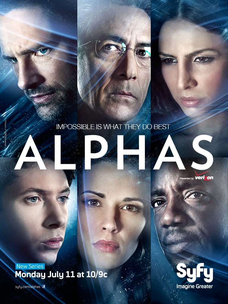 New Series – Alphas Coming in July