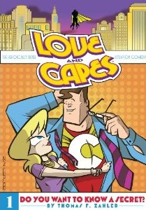 Contest – Win A Signed Copy Of Love And Capes Volume 1
