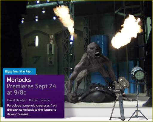 Syfy Original Movie – Morlocks Sep 24th