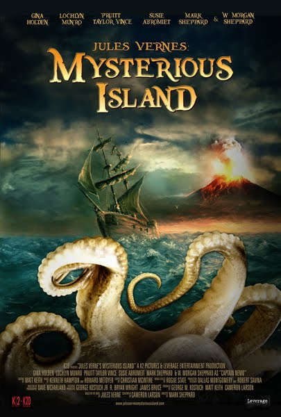 Syfy Original Movie – Jules Verne's The Mysterious Island Feb 11th