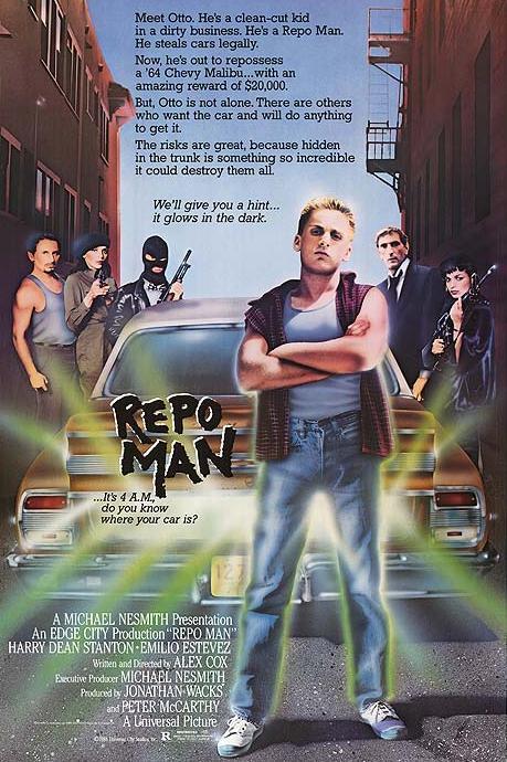 Coming Soon On Saturday B Movie Reel – Repo Man