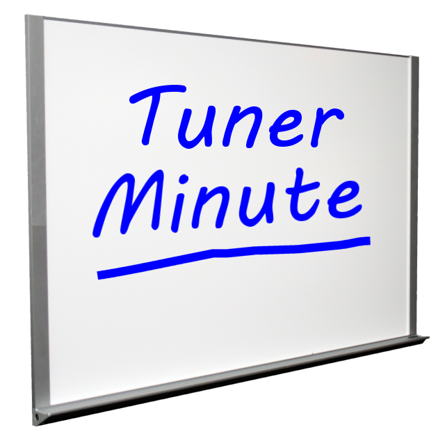 Tuner Minute 323 – Keep Me in Suspense