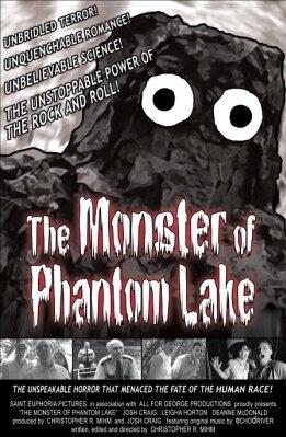 Coming Soon On Saturday B Movie Reel – The Monster Of Phantom Lake