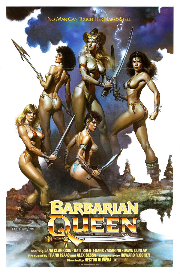 Coming Soon On Saturday B Movie Reel – Barbarian Queen