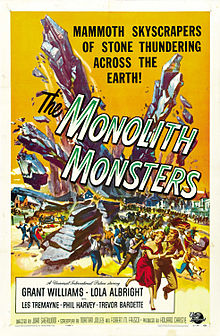 Coming Soon On Saturday B Movie Reel – The Monolith Monsters