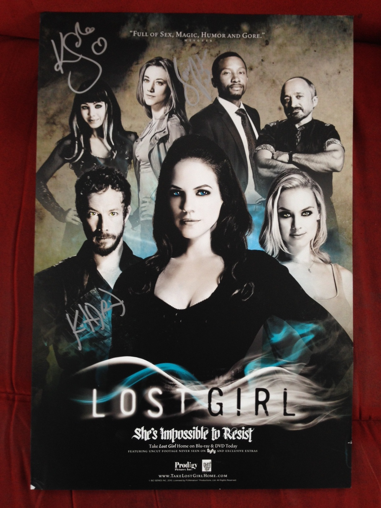 Contest – Win a Lost Girl Signed Poster
