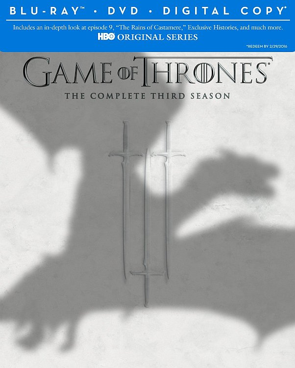 Contest – Win A Season Of Game Of Thrones On DVD or Blu-ray