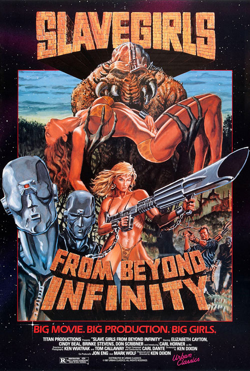 Saturday B Movie Reel #144 – Slave Girls From Beyond Infinity