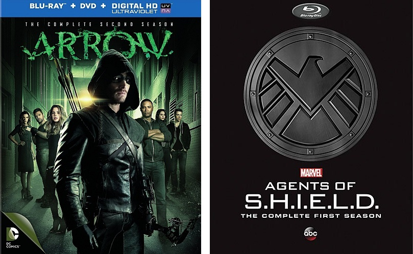 Contest – Win A Season Of Arrow Or Agents of SHIELD On DVD Or Blu-ray
