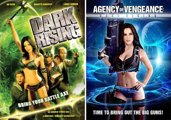 Saturday B Movie Reel #151 – Dark Rising: Bring Your Battle Axe and Agency of Vengeance: Dark Rising