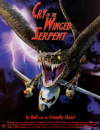 Saturday B Movie Reel #174 – Cry Of The Winged Serpent