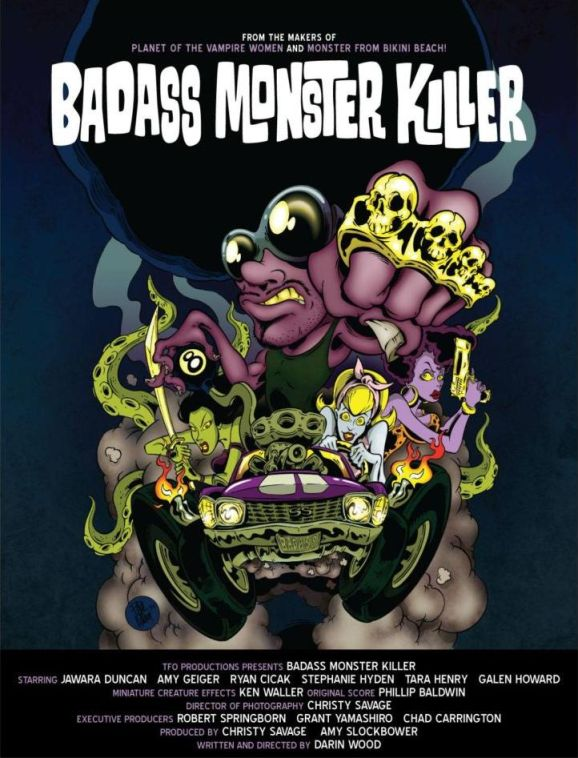 Saturday B Movie Reel #181 – Badass Monster Killer