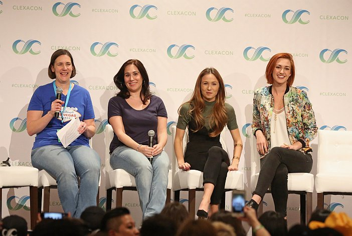Tales of the Black Badge – A Wynonna Earp Fan Podcast #40 – ClexaCon 2017 The WayHaught Women of Wynonna Earp Panel