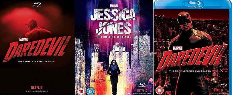 Contest – Win A Netflix Marvel Blu-ray Starter Pack