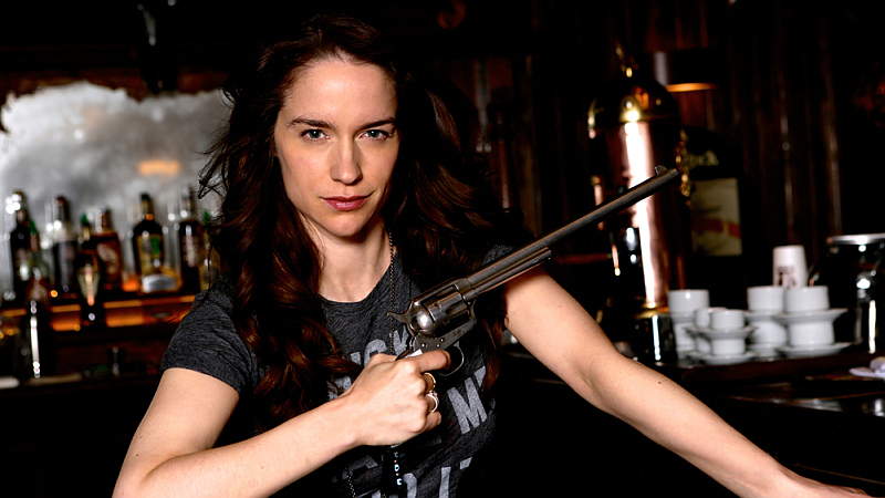 Tales of the Black Badge – A Wynonna Earp Fan Podcast #81 – Melanie Scrofano Season 2 Interview