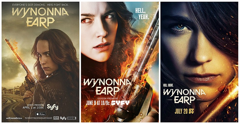 Tales of the Black Badge – A Wynonna Earp Fan Podcast #100 – An Earp Celebration With Emily Andras