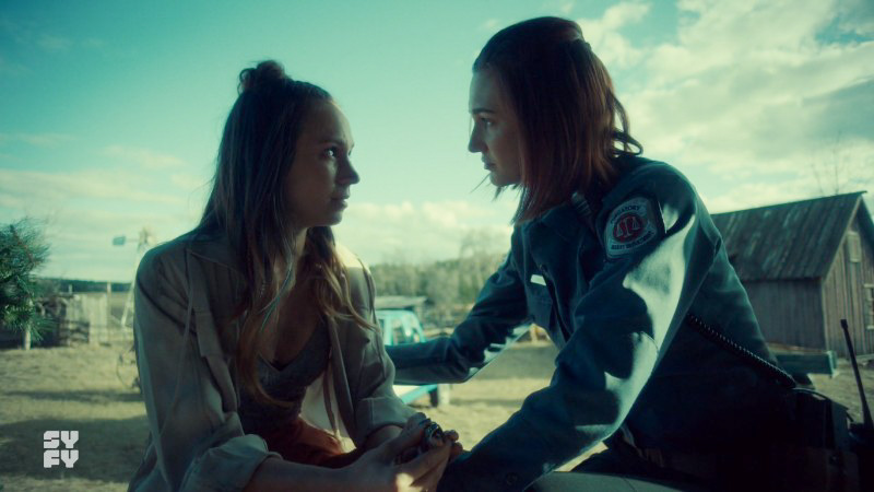 Tales of the Black Badge – A Wynonna Earp Fan Podcast #150 – Dominique Provost-Chalkley And Katherine Barrell (aka WayHaught) Season 3 Interview